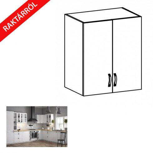 PROVANCE G60 fehér/andersen fenyő felső konyhaszekrény