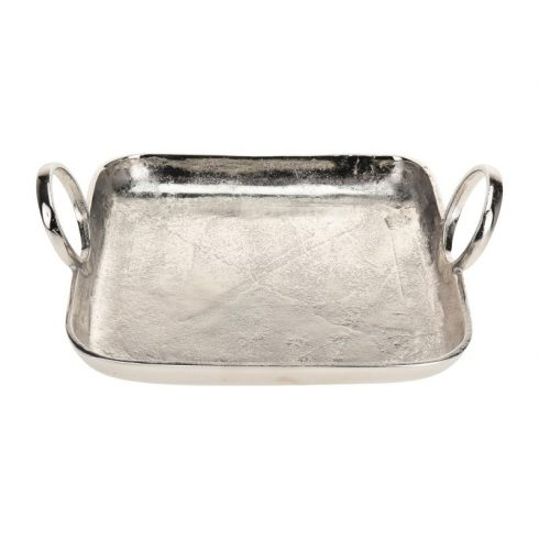 Gaby II. ezüst szervírozó tálca 32 x 25 cm